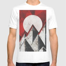 Mount kamikaze Mens Fitted Tee White MEDIUM