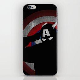 SuperHeroes Shadows : Captain America iPhone Skin