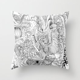 Rotting in Essence #2 Throw Pillow