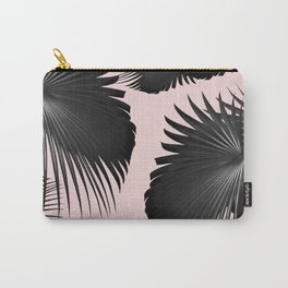 Fan Palm Leaves Paradise #2 #tropical #decor #art #society6 Carry-All Pouch