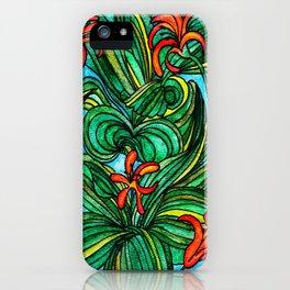 Florida Orange Blossom iPhone Case