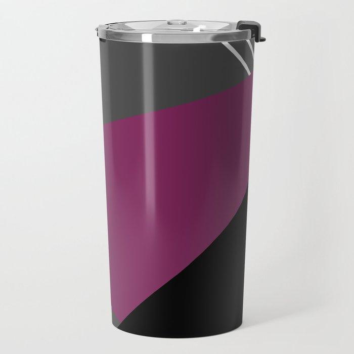 Geometric decor . Triangles 1 Travel Mug