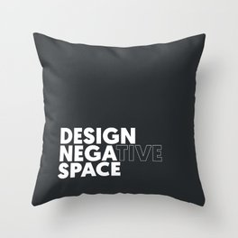 Design the Space Throw Pillow