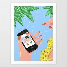 High Summer Art Print