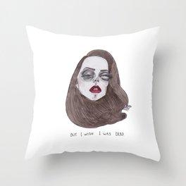 lana x spider Throw Pillow