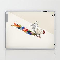 Walking Shadow, Rooster Laptop & iPad Skin