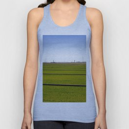 Where The Grass Is Growing Unisex Tank Top