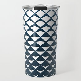 Diamond Fold Travel Mug
