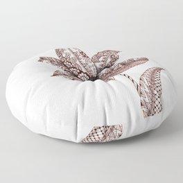 Henna Lily Floor Pillow