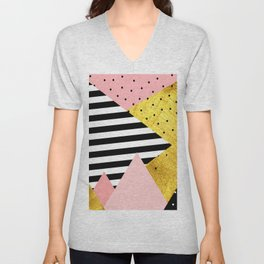 fall abstraction #5 Unisex V-Neck