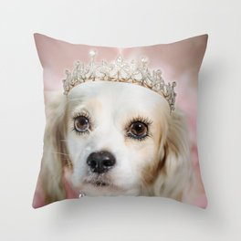 Lady Beatrice Throw Pillow