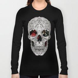 Lace Skull Light Long Sleeve T-shirt