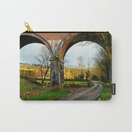 View through a viaduct. Carry-All Pouch