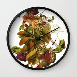 Magic Garden II Wall Clock