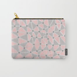 Seg African Grey and Pink Carry-All Pouch