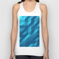 polygon Tank Tops featuring Polygon Five by Jambot