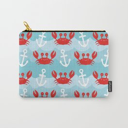 Anchor's Away Crab Carry-All Pouch