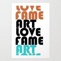 artlovefame Art Print