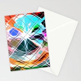 Harlekin abstrakt. Stationery Cards