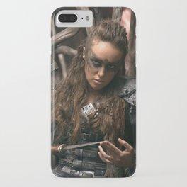 Lexa 02 iPhone Case