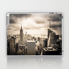 Stormy Manhattan Laptop & iPad Skin