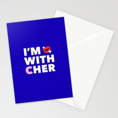 #ImwithCher Logo #1 Stationery Cards