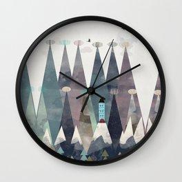 the love nest Wall Clock