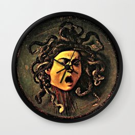 The Head of Medusa Wall Clock