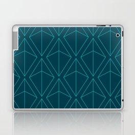 BLUE GEOMETRIC DIAMONDS Laptop & iPad Skin