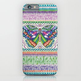 Tribal Butterfly iPhone Case