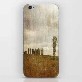 Nine Silos a Tank and a Tree iPhone Skin