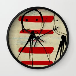 « the best friends » Wall Clock