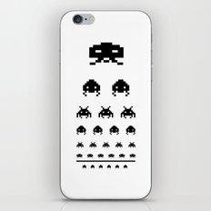 Gamers eye test iPhone & iPod Skin