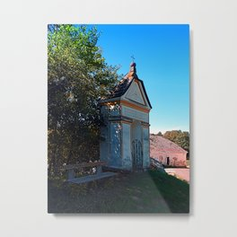 The small chapel at the mill Metal Print