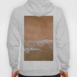 AERIEL VIEW OF THE BEACH Hoody