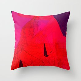 A Dystopian Dream Throw Pillow