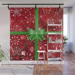Christmas Gift Wall Mural