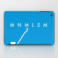 minimalism iPad Cases featuring Minimalism• by Mike•Long