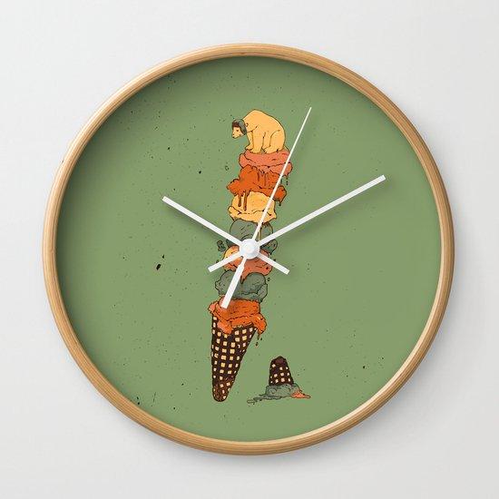 The Arctic Ice Cream Wall Clock
