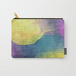 Bold Watercolor Words 4 Carry-All Pouch