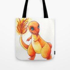 Little Charming Salamander Tote Bag