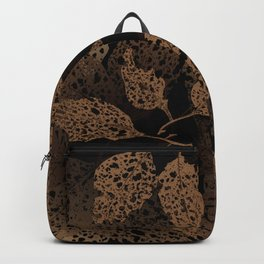 brown autumn Backpack