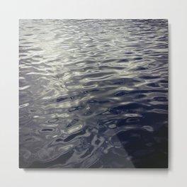 Ripples Abstract Metal Print