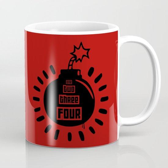 One, Two, Three, Four Mug
