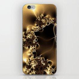 Electric shock iPhone Skin