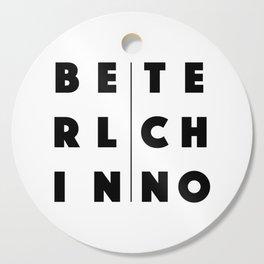 Berlin Techno Cutting Board