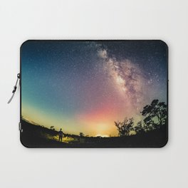 Gazing into the Unknown Laptop Sleeve