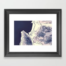 Take Me Away Framed Art Print