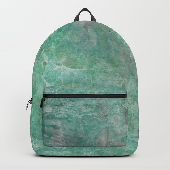Mossy Woods Green Marble Backpack