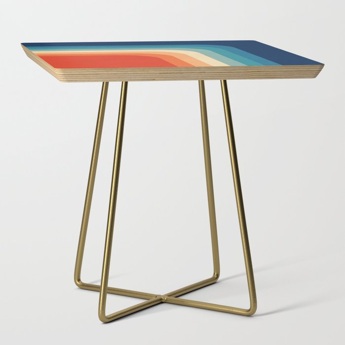 Retro 70s Color Palette III Side Table